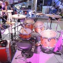 Phattie Drums 14х8 custom maple snare drum 2008 Custom color wrap