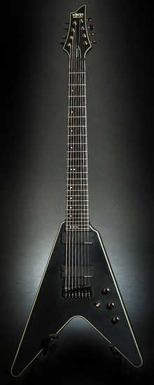 Schecter BLACKJACK SLS V-8 2012 Black Satin