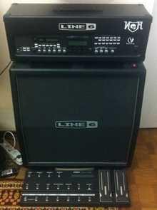 Line 6 Vetta II Stereo Head 300W  [комплект]