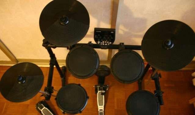 Как из акустических барабанов сделать электронные