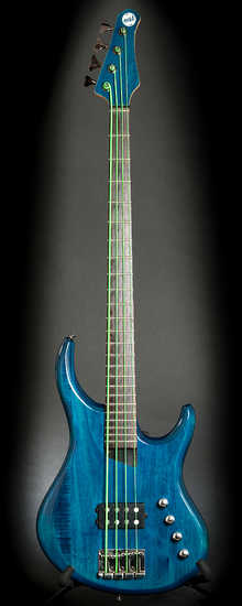 MTD Kingston Artist 4 2006 Translucent Blue
