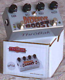 ThroBak Overdrive Boost Made