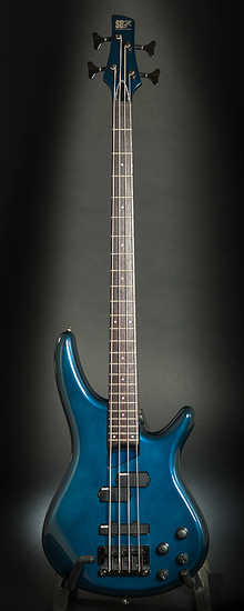 Ibanez SB800 1993 blue metallic