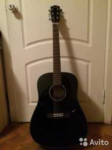 Fender Acoustics CD-60 BK-DS-V
