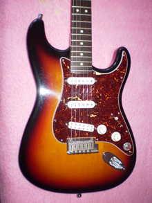 Fender Stratocaster American Standard+ 1997 Sunburst