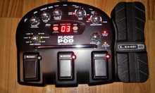 LINE 6 FLOOR POD гитарный процесор с блоком питания