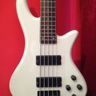 Schecter Stiletto Deluxe 5  White