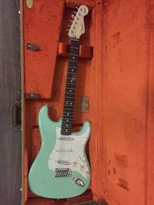 Fender Jeff Beck Stratocaster 2014 Surf Green