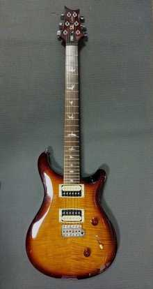 PRS SE Custom  2010 Sunburst