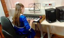 Vermona Piano-Strings 1973 черный дермантин