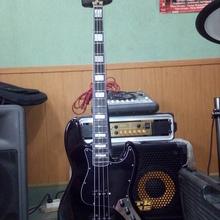 Fender Jazz bass (мастеровой) с Sadowsky pream(видео)