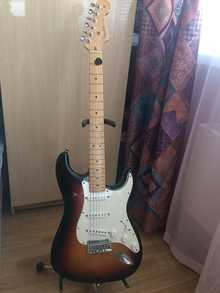 Fender Stratocaster  50th Anniversary 2004 2004 Санберст