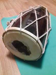 Индийский барабан Дхолак