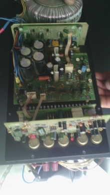 Підсилювач з активної колонки MAG MS112PA моно 150ВТ
