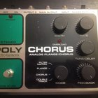 Electro-Harmonix Analog Flanger/Chorus 2015 Серебристый