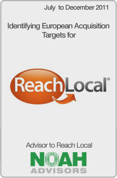 NOAH Transaction - ReachLocal - December 2011