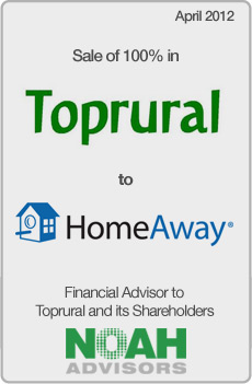 NOAH Transaction - Toprural - April 2012