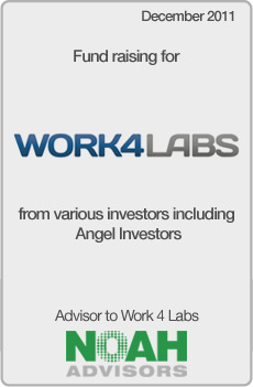 NOAH Transaction - Work4Labs - December 2011