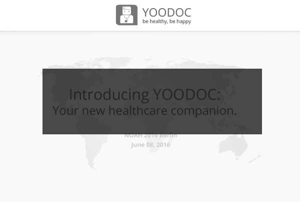 NOAH Startups - YOODOC.COM