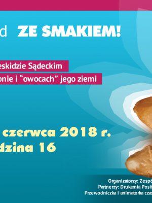 """Wernisaż wystawy """"Odkryj Beskid ze smakiem"""" – w restauracji Cristalpatio – 9 czerwca"""
