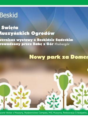Wernisaż wystawy w Dworku Starostów podczas Święta Muszyńskich Ogrodów