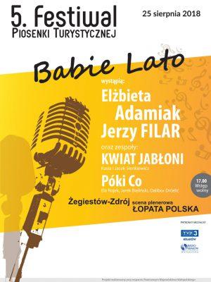 """5. Festiwal Piosenki Turystycznej """"Babie Lato"""" w Żegiestowie-Zdroju."""