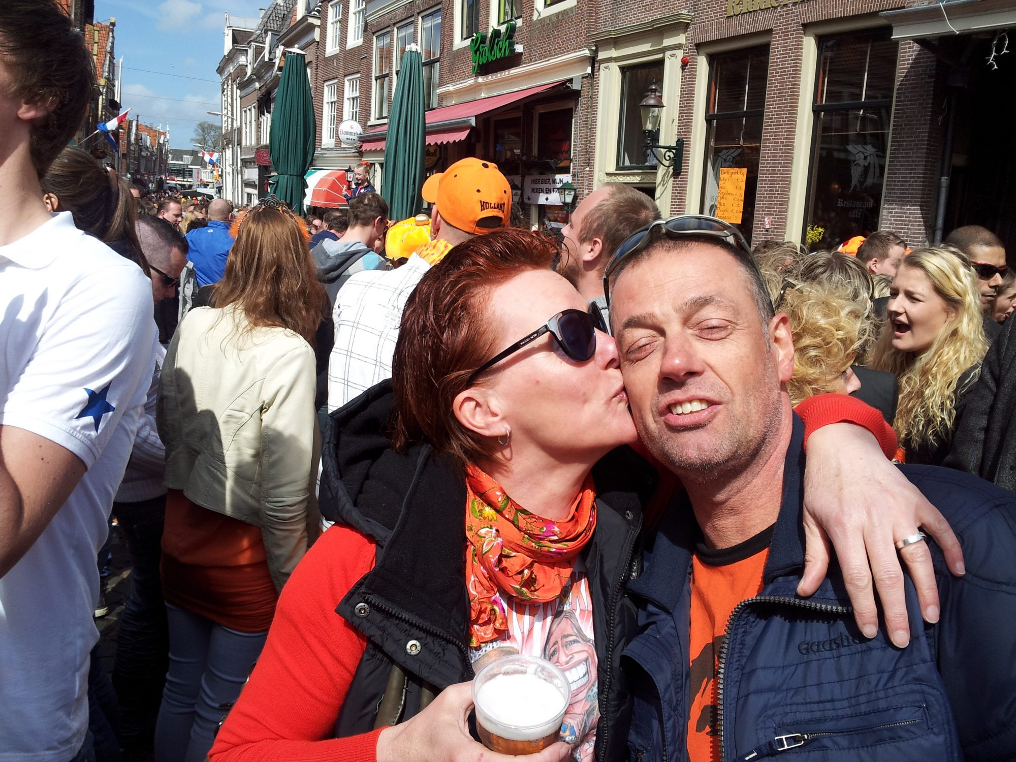 Koningsdag in Westfriesland via social media