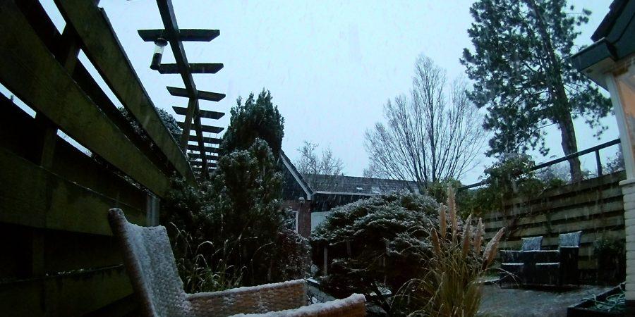 Westfriesland kleurt langzaam (sneeuw)wit [fotos]