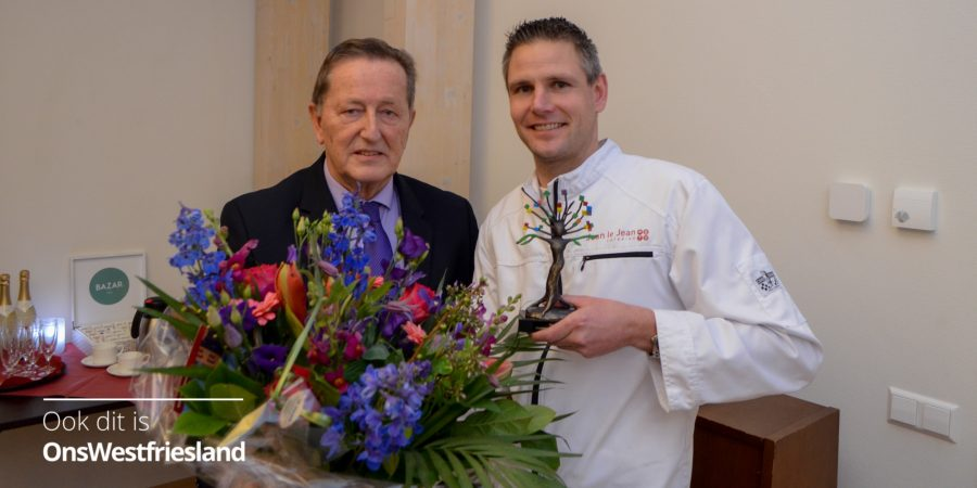 Award Duurzame Ondernemer voor Jean le Jean Catering