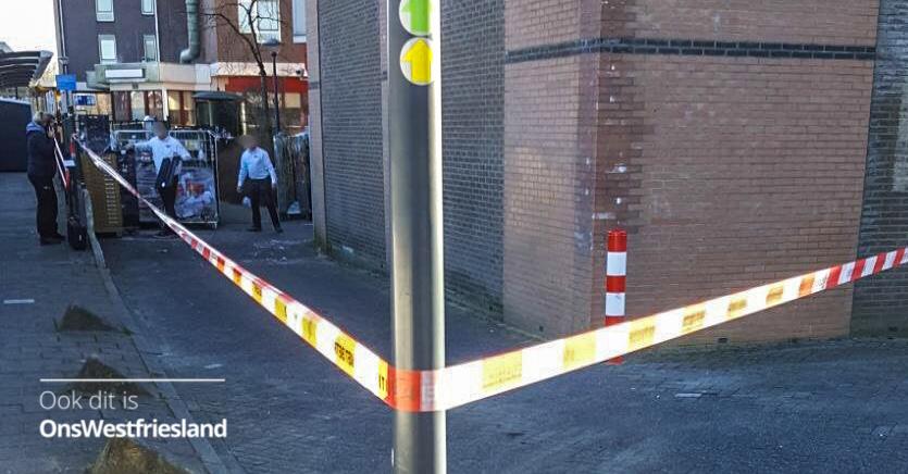 Poging overval supermarkt Hoorn, medewerker gewond