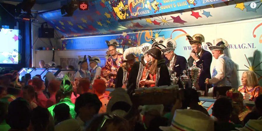Video: Optocht en live prijsuitreiking Carnaval Zwaag 2018