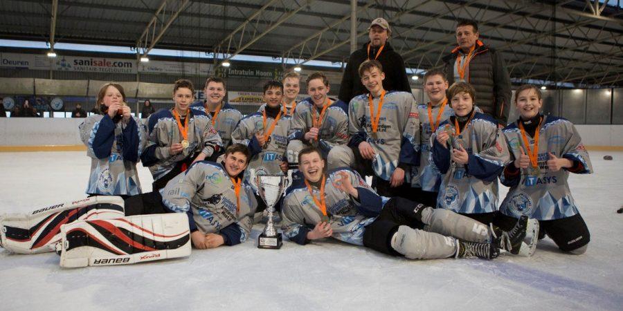 Blue Mountain Cougars Hoorn Nederlands kampioen van de aspiranten