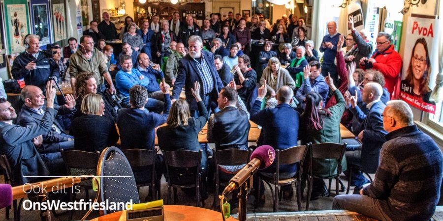 Maandagavond Grote Verkiezingsdebat Hoorn in Het Park
