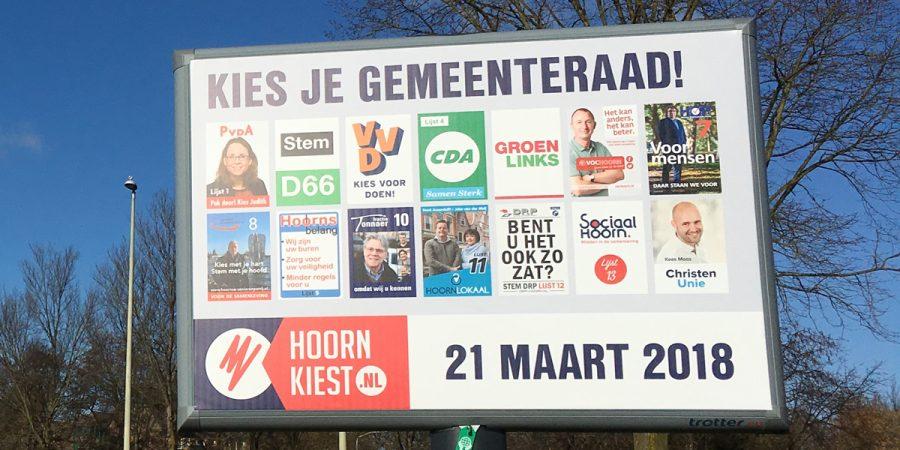 Maandag Grote Verkiezingsdebat in Hoorn