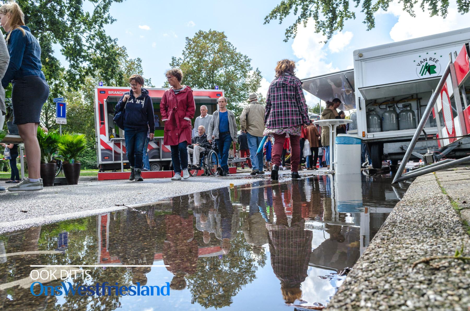 Regen En Zonneschijn : Jaarmarkt blokker na regen komt zonneschijn foto s
