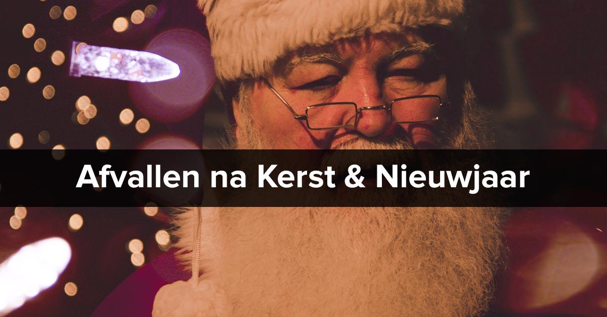 Afvallen na kerst en nieuwjaar