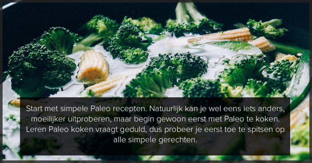 Simpel Paleo koken