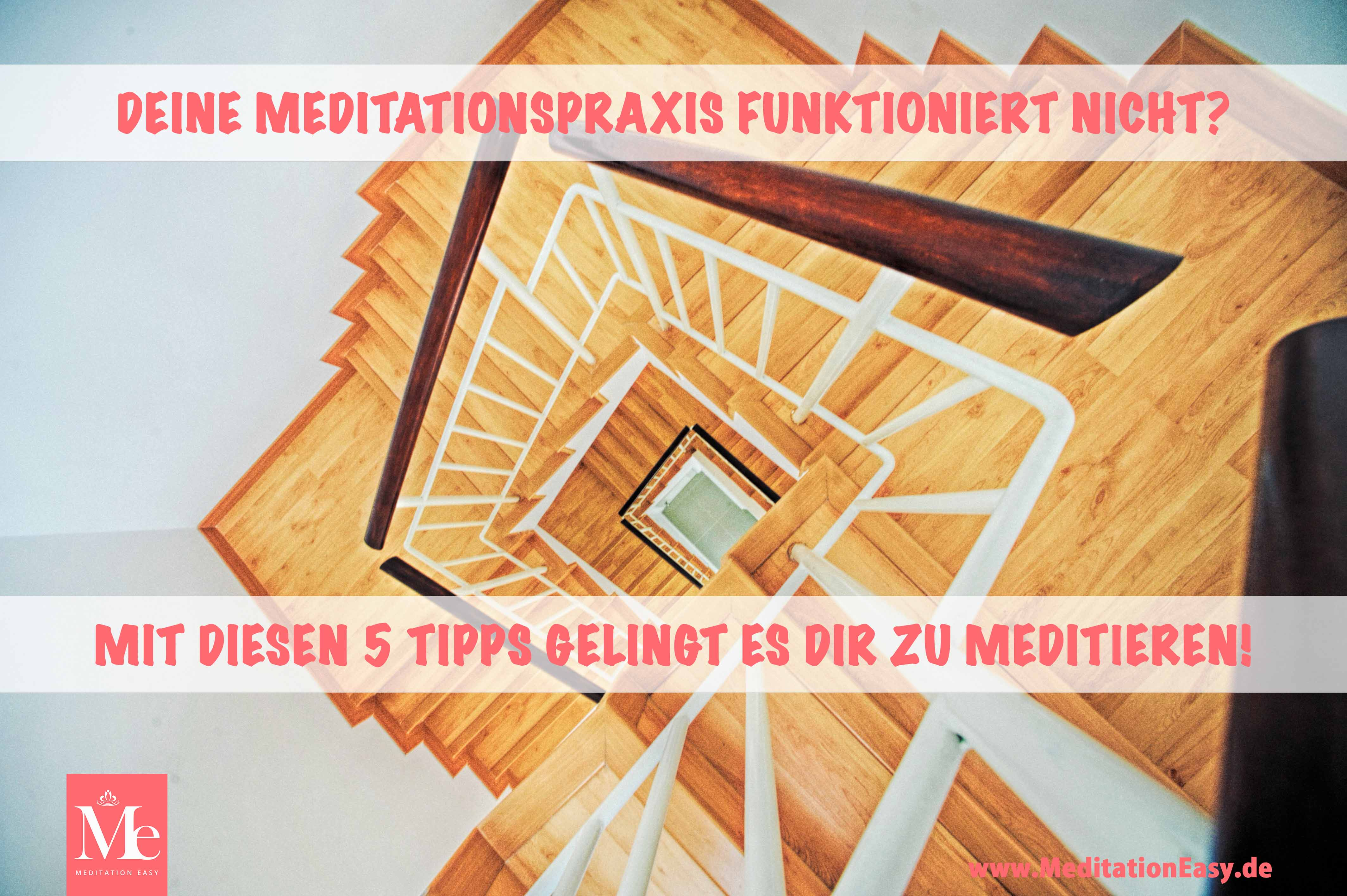 Blog meditation funktioniert nicht