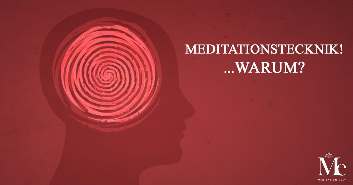 Eine meditationstechnik