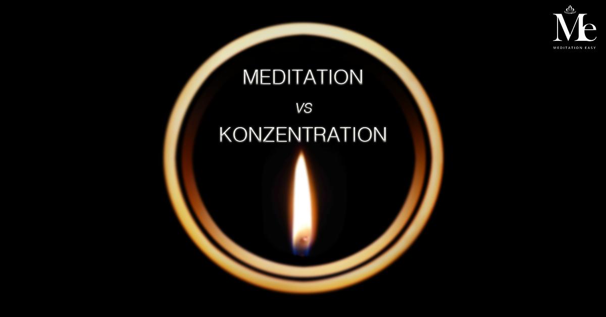 Meditation vs konzentration v2