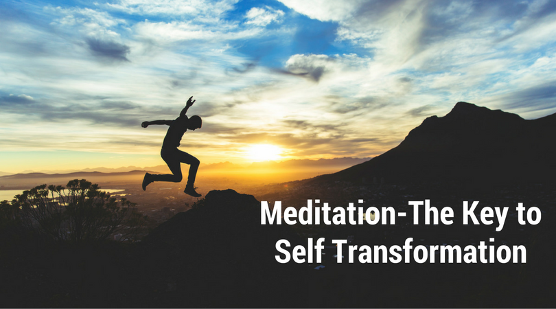 Meditation   the key to self transformation