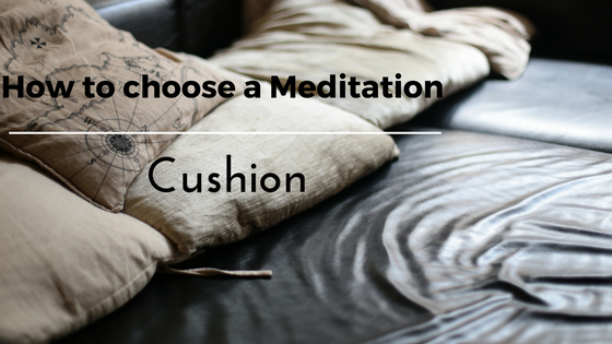 8. how to choose a meditation cushion