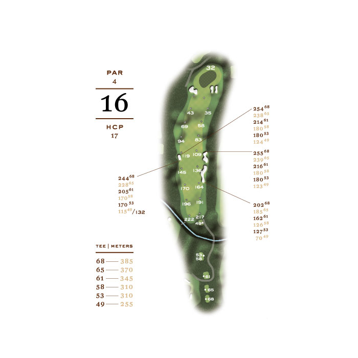Links Course - hål 16