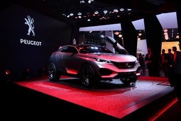 Peugeot Quartz Mondial de L'auto 2014