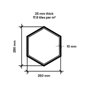 Hexagon small