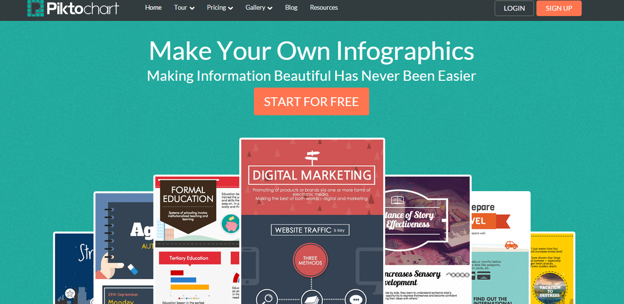 Infographic maker online free