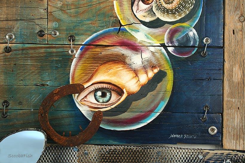 Scultura murale da parete