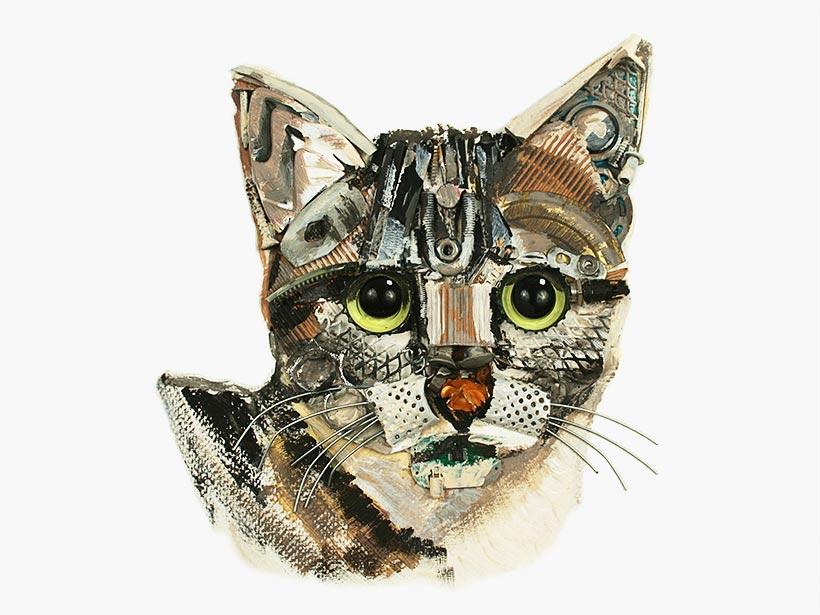 3D Paintings, Pet Portraits, Animals