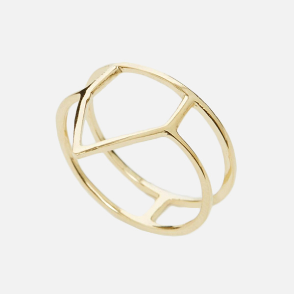 ASOS Collection Triangelring 1