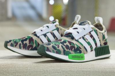 Кроссовки Adidas NMD Runner R1 x Bape